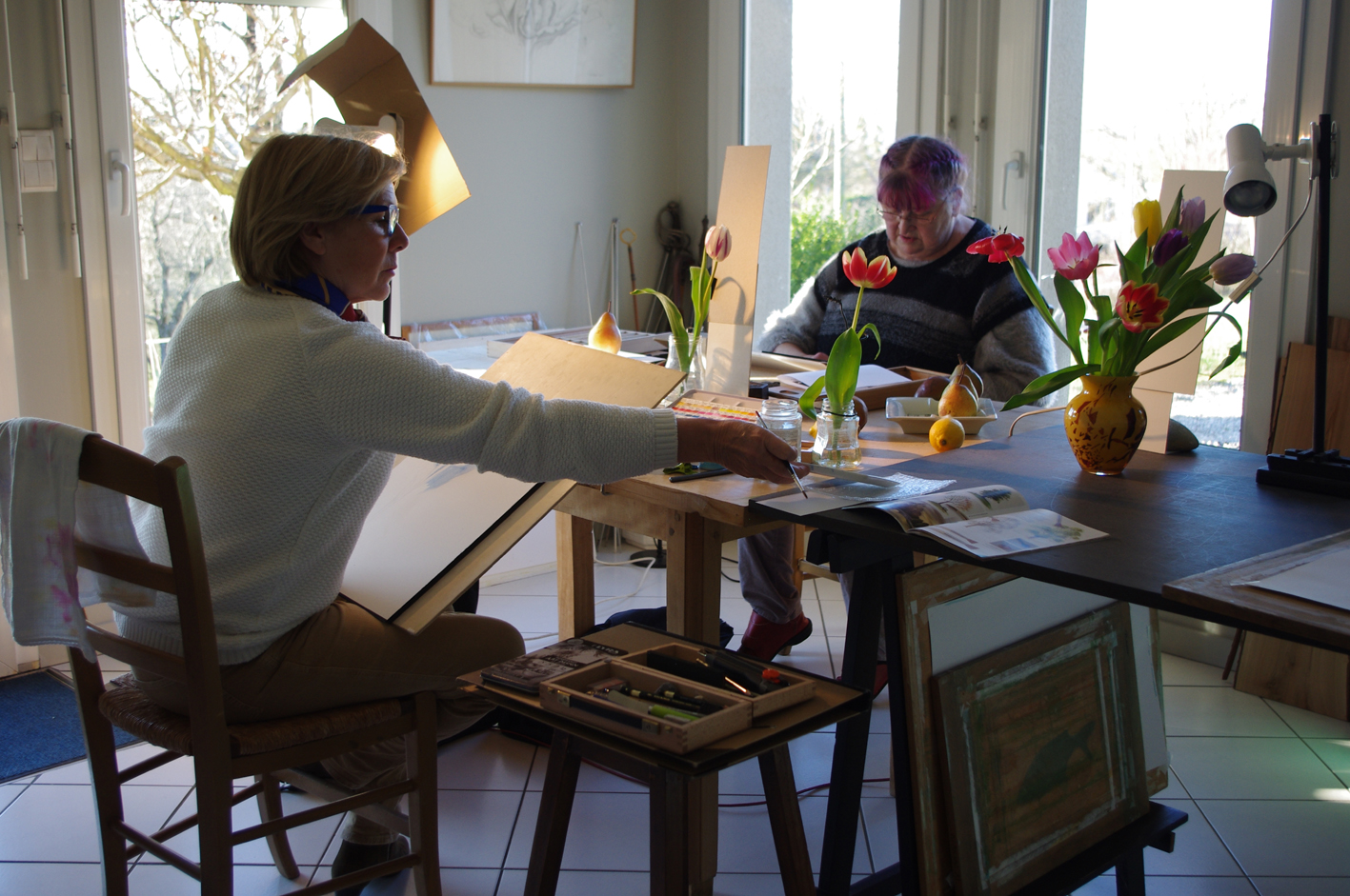 Atelier «Tulipes»